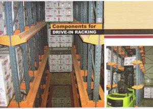 Drive In , High density storage systems.