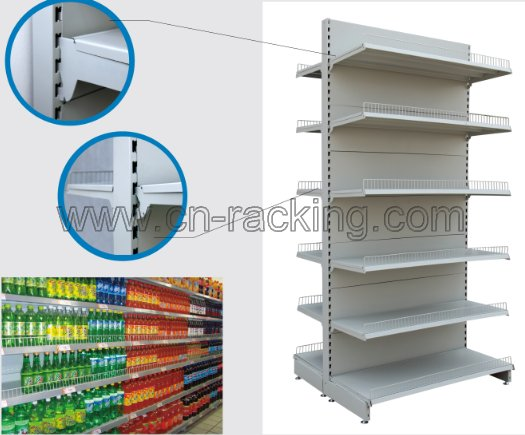 SUPERMARKET DISPLAY SHELVING