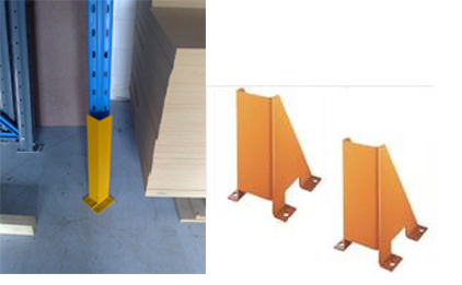 Upright Protectors for Pallet Racking