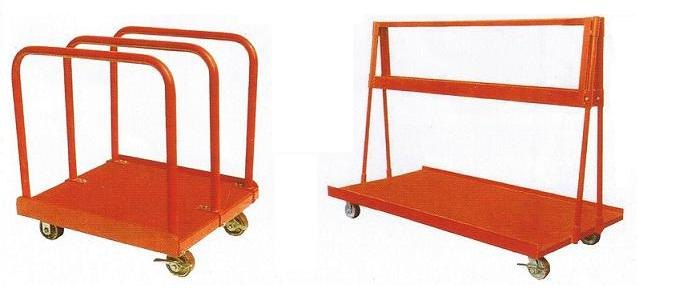 Heavy duty panel cart & A-Frame panel cart
